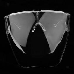 Face Masks Transparent Anti-fog Face Shield Anti Dust Reusab