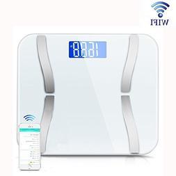 FlightingLive Body Fat Scale, Wi-Fi Digital Bathroom Scale,