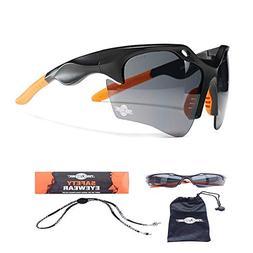 ToolFreak Finisher Work and Sport Safety Glasses Dark Smoke