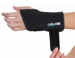 Mueller Fitted Wrist Brace Green Line Number 86271 - Right F