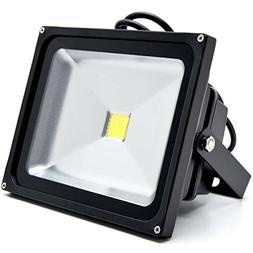 Biltek 30W LED Flood Light Cool White High Power Outdoor Spo