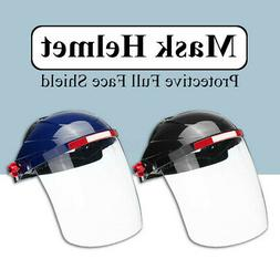 Full Face Safety Shield Tool Mask Clear Glasses Painting Eye