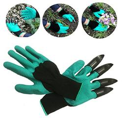 Kicode Garden Digging Gloves with Claws Hand for Easy Planti