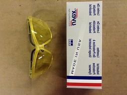 UVEX Genesis Reflex Yellow Frame Amber High Impact Safety Gl