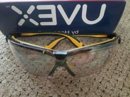Uvex Genesis X2 Safety Glasses with Indoor Outdoor Mirror Le