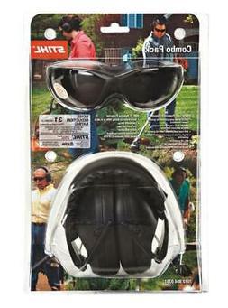Genuined OEM Stihl Safety Glasses Smoke Lens Hearing Ear Pro