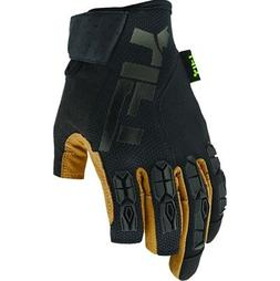Lift Safety GFD-17KBR1L  Brown/Black Pro Series Framed Glove
