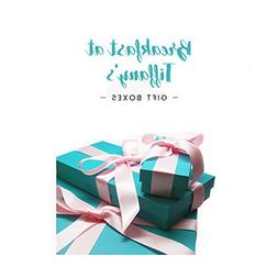 Gift Boxes inspired by Breakfast At Tiffany's, Blue