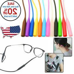 Glasses Silicone Strap Neck Cord Sunglasses Eyeglasses Strin