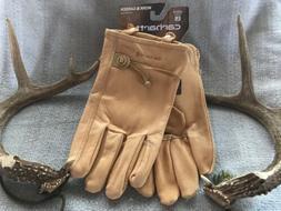carhartt gloves A514 Leather Driver Work & Garden, Size L