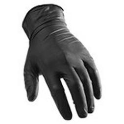 Lift Safety GNX-1KS Black Disposable Gloves - Small, 100 per