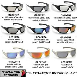 PYRAMEX GOLIATH SAFETY GLASSES MOTORCYCLE SPORT WORK SUNGLAS