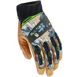 Lift Safety GTA-17CFBRL  Camo Genuine Leather Tacker Gloves