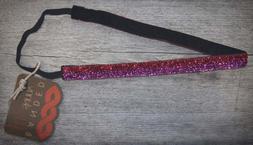Hairband Headband No Slip - Fabric - Skinny - Color Hot Pink