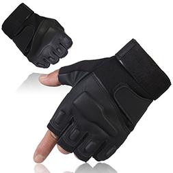 GOWINGLD Outdoor Sports Half Fingerless Riding Military Tact
