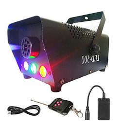 Yugee Professional Haze Fog Machine 400W Wireless Remote Con