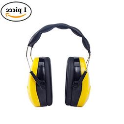 Golden Scute Hearing Protection Safety Adjustable Ear Muffs