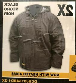 Dewalt Heavy Duty Heated Jacket XL 2X Baretool and 20V USB A