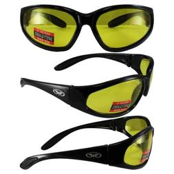 Global Vision Hercules Sunglasses w/Yellow Lenses
