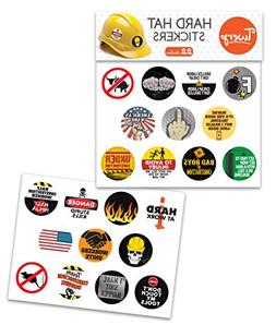 Hilarious Hard Hat and Tool Box Stickers   Perfect Gift for