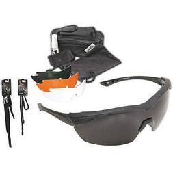 EDGE EYEWEAR HO611 Safety Glasses,Clear, Tiger's Eye