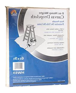 Galaxy Products HW69 Paintessentials Canvas Drop Cloth, 6 x