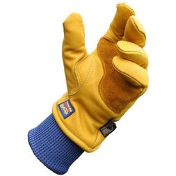 Wells Lamont HydraHyde Grain Cowhide Gloves for Men, XL