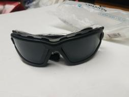Pyramex I-Force Safety Glasses Matted Black with Grey Lens S