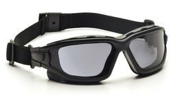 Pyramex I Force Smoke/Gray Dual Pane Anti Fog Safety Glasses