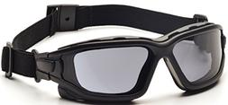 Pyramex I-Force Safety Glasses, Black Strap-Temples/Gray Ant