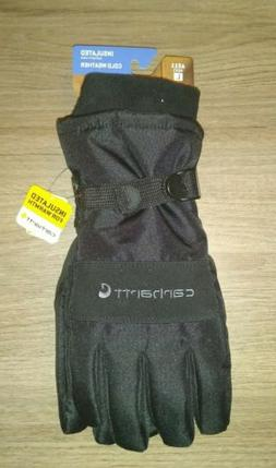 Carhartt Insulated Cold Weather Waterproof Gloves A511 Large