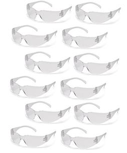 PYRAMEX INTRUDER SAFETY GLASSES CLEAR LENS 12/BOX - MS97120