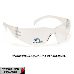 PYRAMEX INTRUDER READER BIFOCAL SAFETY GLASSES 1.5-2.5 MAGNI