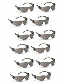 PYRAMEX INTRUDER SAFETY GLASSES SMOKE/GRAY LENS SUNGLASSES