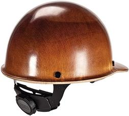 Ironworkers Natural Tan Skullgard Cap Style Hard Hat w/ Fas-