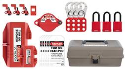ABUS K925 Safety Lockout Tagout Personal Toolbox Kit