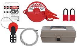 ABUS K940 Safety Lockout Tagout Valve Toolbox Kit