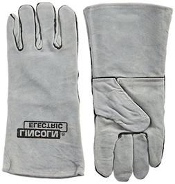 Lincoln Electric KH641 Leather Welding Gloves, One Size, Gre