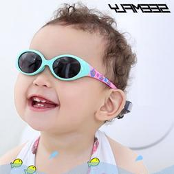Seemfly Kids <font><b>Sunglasses</b></font> Boys <font><b>Gi