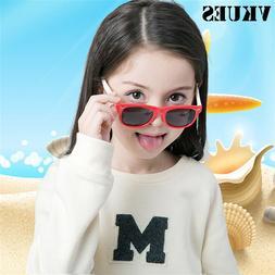 VKUES Kids Polarized Sunglasses Children Flexible <font><b>M