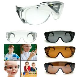 Kids Safety Glasses Clear Lens Color Temple Child Size Small
