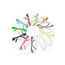 Kids Safety Glasses,Clear  Lens Color Temple,Child Size -Var