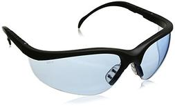 Klondike  Protective Eyewear Black Frame Light Blue Lens