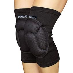 GRANDCOW Knee Pads for Volleyball Work Construction Gardenin
