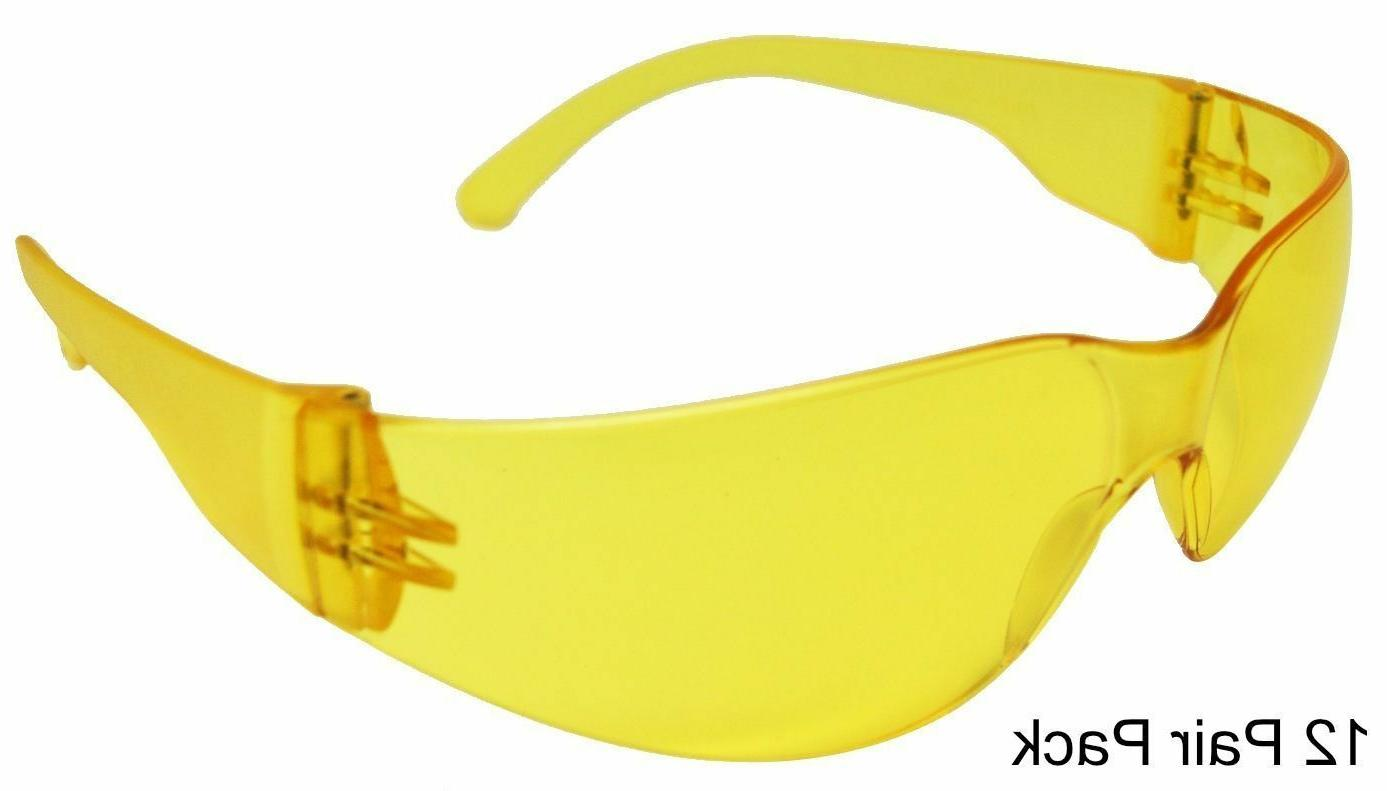 1 - 144 PAIR SAFETY GLASSES COMPLIANT YOU PACK