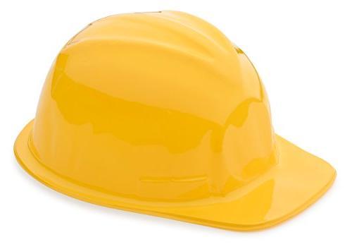 1 dozen yellow construction hats