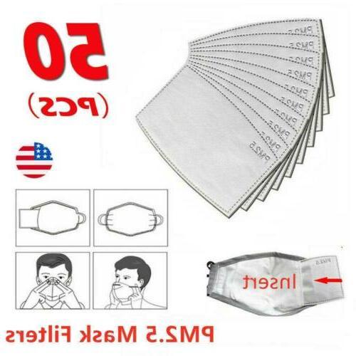 10-50 PCS PM2.5 Filter paper Haze Face Shiel Visor Anti Fog