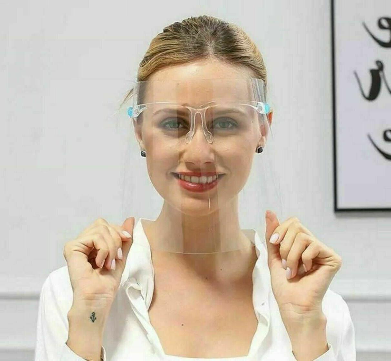 ✅ 10 Face Shield Protection Reusable