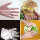 100pcs Plastic Disposable Gloves Food Safe Cleaning Gloves K