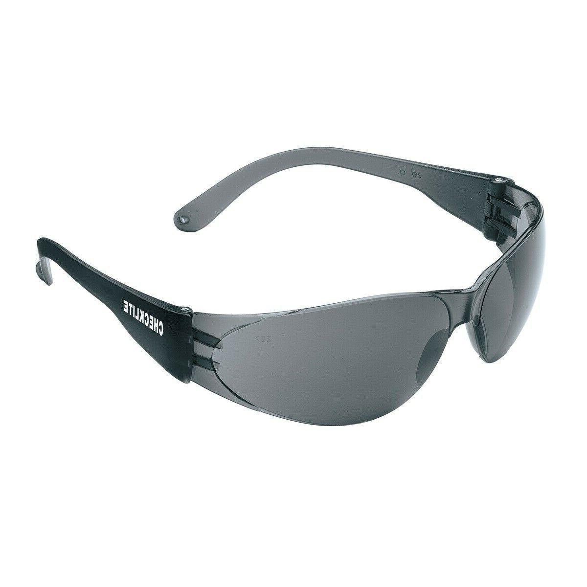 12 Safety Smoke Lens Sunglasses of